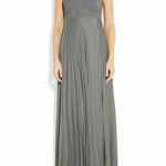 Willow pleated jersey dress / Net-a-Porter