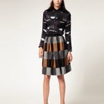 Antipodium A-line skirt / ASOS