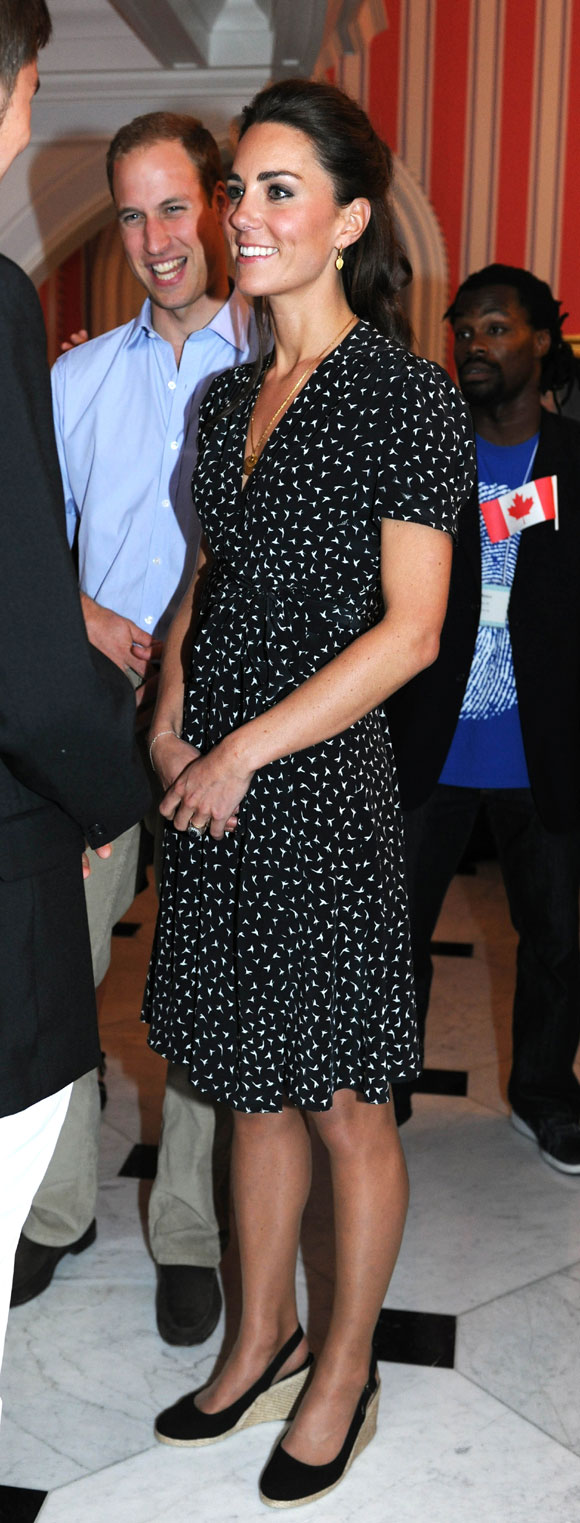 Kate Middleton in Issa