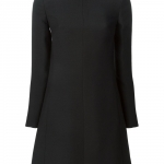 Valentino embellished collar dress at Farfetch