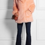 See by Chloé faux fur coat at Net-a-Porter