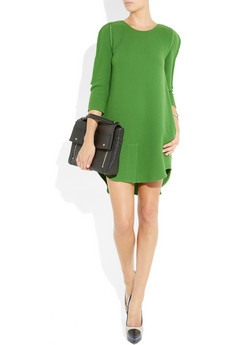 3.1 Phillip Lim Wool Crepe Dress at Net-a-Porter / AW11/12