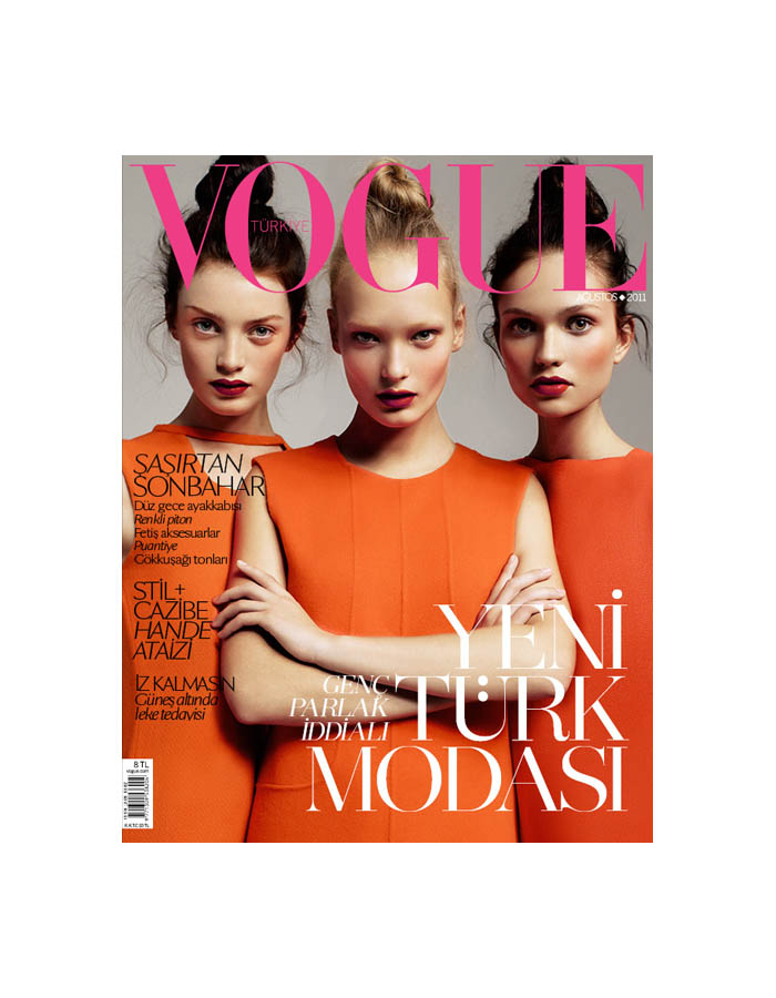 Vogue Turkey / August 2011 / Cuneyt Akeroglu