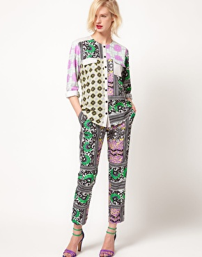 ASOS Africa Printed Trousers £40