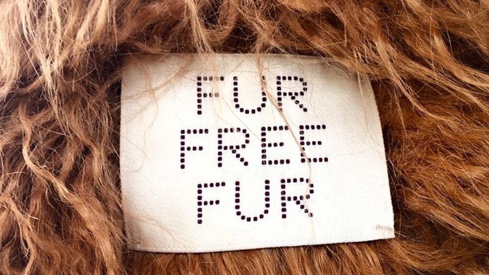 Faux Fur Header