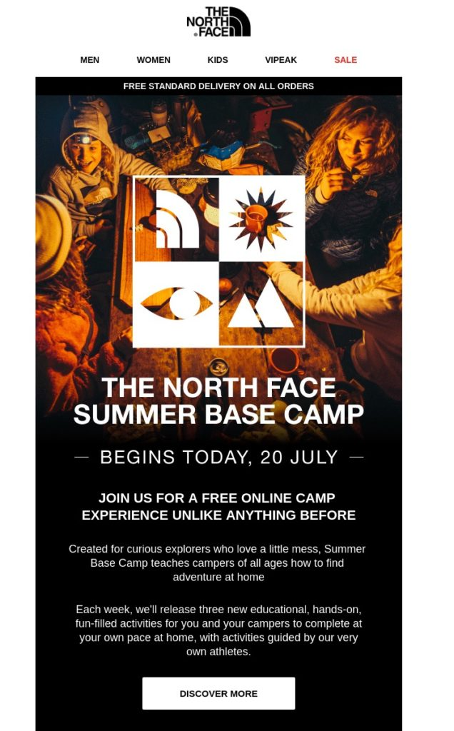 The North Face Email Us 20 Jul 2020