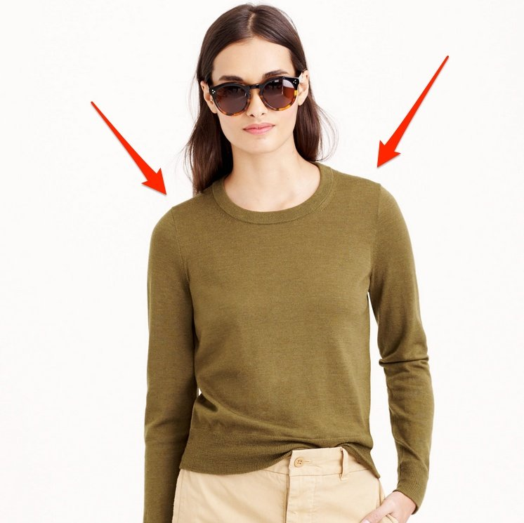 650088d9415 The J.Crew Tilly  A Sweater With the Ability To Scandalize - EDITED